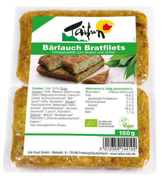 Taifun Bärlauch Bratfilets, 160 g