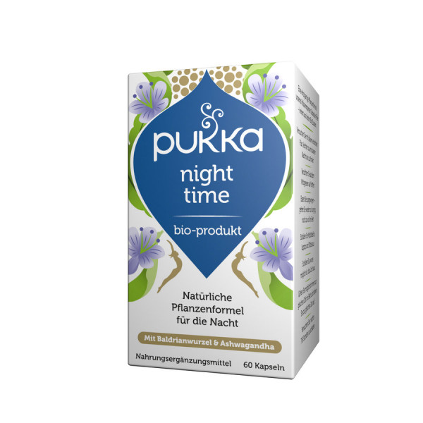 Pukka Night Time 60 Vegetarische Kapseln Bio