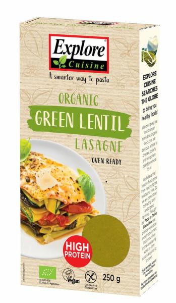Explore Cuisine Lasagne aus grünen Linsen