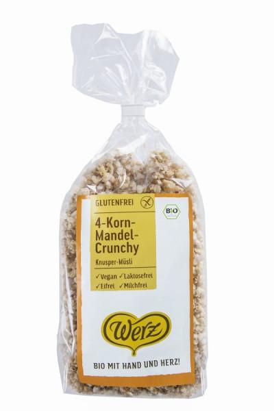 naturkorn mühle Werz 4-Korn-Vollkorn-Mandel-Crunchy, Knusper-Müsli, glutenfrei