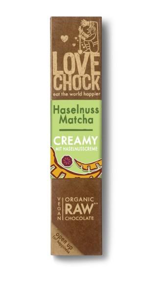 Lovechock Lovechock Creamy Riegel 40 g Haselnuss/Matcha