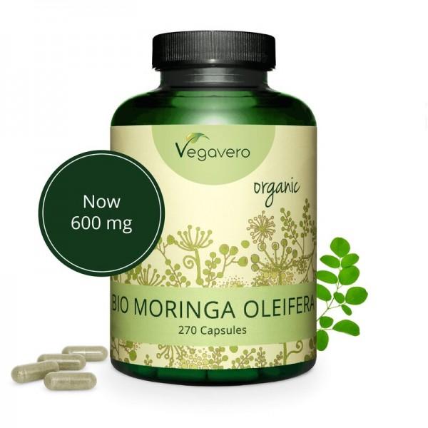 Vegavero Moringa Oleifera, 300 Kapseln