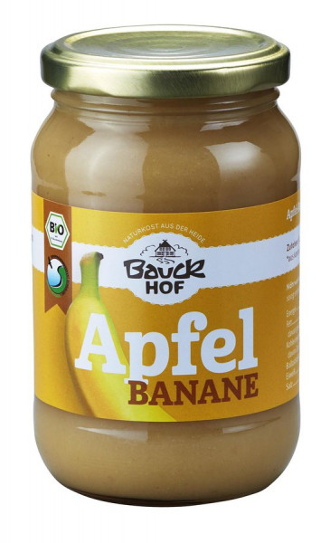 Bauckhof Apfel-Bananenmark ungesüßt Bio