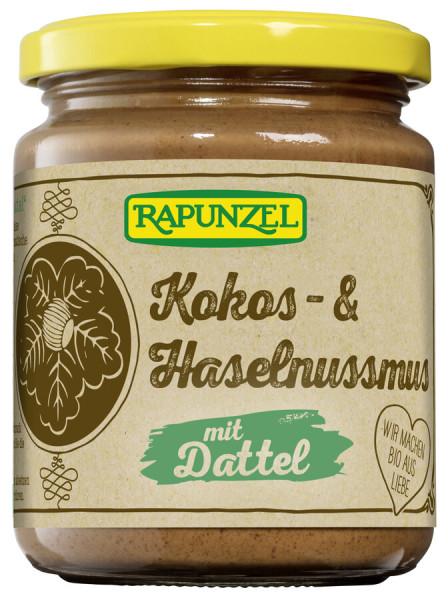 Rapunzel Kokos- & Haselnussmus mit Dattel
