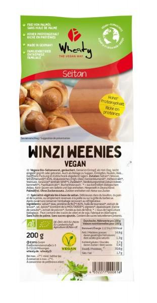 Wheaty Wheaty Winzi Weenies Vegan