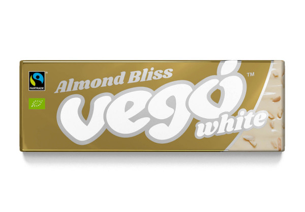 Vego Vego White - Almond Bliss, BIO/FT