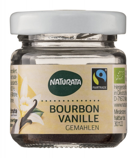 NATURATA Bourbon-Vanille, gemahlen