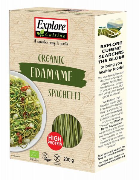 Explore Cuisine Spaghetti aus Edamamebohnen