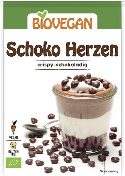 Biovegan Schoko Herzen, BIO