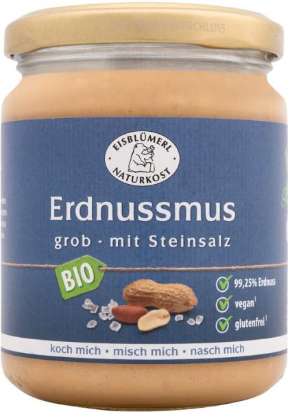 Eisblümerl Erdnussmus grob mit Steinsalz 250g
