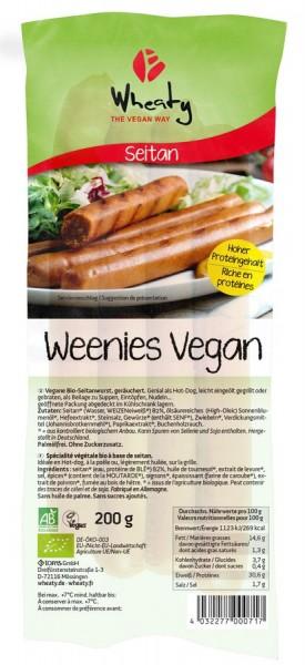 Wheaty Wheaty Vegane Weenies