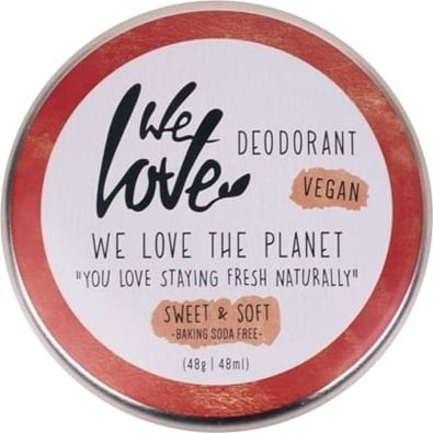 We Love the Planet DEOCREME, 48g