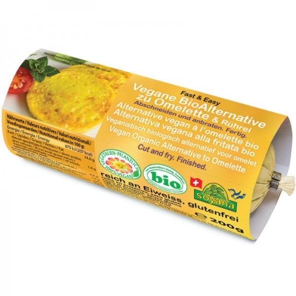 Soyana Vegane Alternative zu Omlette & Rührei, 200g
