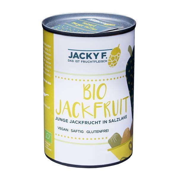 Jacky F. Jackfruit naturell, 400g Dose