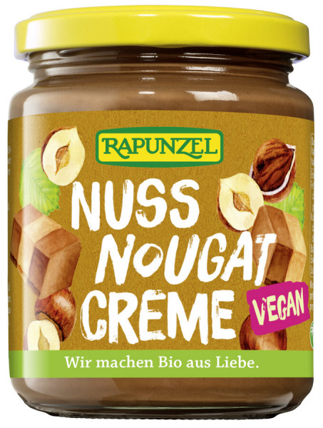 Rapunzel Nuss-Nougat-Creme vegan