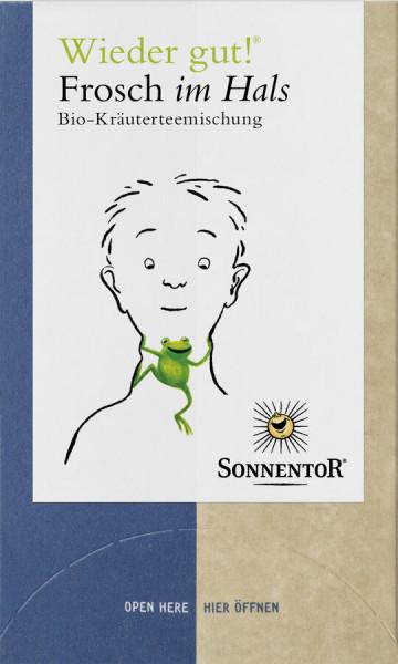 Sonnentor Frosch im Hals® Tee Wieder gut!®, Doppelkammerbeutel
