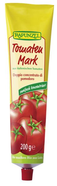 Rapunzel Tomatenmark, zweifach konzentriert (28% Tr.M.) in der Tube